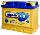 Аккумулятор АКОМ  6СТ - 60 Евро